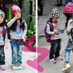 Hình ảnh nguồn hàng Balo vải đi học trẻ em nhiều màu dễ thương giá sỉ quảng châu taobao 1688 trung quốc về TpHCM