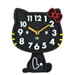 Hình ảnh nguồn hàng Đồng hồ nhựa treo tường Hello Kitty dễ thương giá sỉ quảng châu taobao 1688 trung quốc về TpHCM