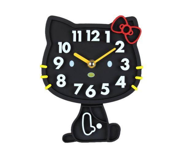 Đồng hồ nhựa treo tường Hello Kitty dễ thương Mua Bán Sỉ Lẻ Order Quảng Châu