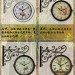 Hình ảnh nguồn hàng Đồng hồ treo tường trang trí cổ điển giá sỉ quảng châu taobao 1688 trung quốc về TpHCM