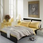 Hình ảnh nguồn hàng Bộ ga giường vải satin trơn màu sắc nhã nhặn đơn giản giá sỉ quảng châu taobao 1688 trung quốc về TpHCM