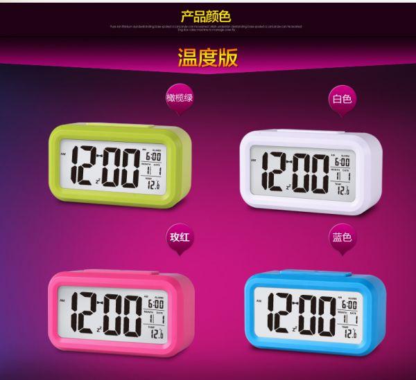 Đồng hồ điện tử báo thức để bàn màn hình Led thời trang Mua Bán Sỉ Lẻ Order Quảng Châu