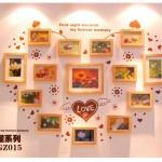 Hình ảnh nguồn hàng Bộ khung hình trái tim treo tường phong cách ấn tượng giá sỉ quảng châu taobao 1688 trung quốc về TpHCM