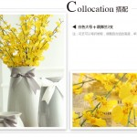 Hình ảnh nguồn hàng Bình hoa sứ thủ công trang trí phòng khách đính nơ dễ thương giá sỉ quảng châu taobao 1688 trung quốc về TpHCM