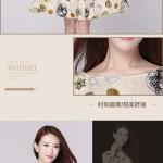 Hình ảnh nguồn hàng Đầm ngắn không tay nữ họa tiết tròn xinh xắn giá sỉ quảng châu taobao 1688 trung quốc về TpHCM