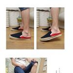 Hình ảnh nguồn hàng Giày lười denim nam nhiều màu thoải mái năng động giá sỉ quảng châu taobao 1688 trung quốc về TpHCM