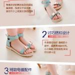 Hình ảnh nguồn hàng Sandal nữ da mềm đai kim loại thời trang giá sỉ quảng châu taobao 1688 trung quốc về TpHCM