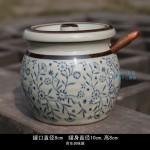 Hình ảnh nguồn hàng Bình sứ đựng gia vị kèm muỗng nhỏ họa tiết độc đáo giá sỉ quảng châu taobao 1688 trung quốc về TpHCM