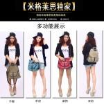 Hình ảnh nguồn hàng Túi vải đeo vai nữ nhỏ dễ thương năng động giá sỉ quảng châu taobao 1688 trung quốc về TpHCM