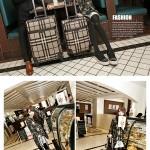 Hình ảnh nguồn hàng Vali da PU kẻ sọc lớn siêu bền thời trang giá sỉ quảng châu taobao 1688 trung quốc về TpHCM