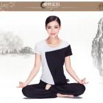Hình ảnh nguồn hàng Quần áo tơ nhân tạo tập yoga nữ thoải mái giá sỉ quảng châu taobao 1688 trung quốc về TpHCM