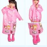 Hình ảnh nguồn hàng Set áo mưa và dù trẻ em hoạt hình dễ thương giá sỉ quảng châu taobao 1688 trung quốc về TpHCM