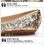 Hình ảnh nguồn hàng Giày búp bê đế phẳng nữ lấp lánh dễ thương giá sỉ quảng châu taobao 1688 trung quốc về TpHCM