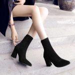 giày boot cao gót nữ đẹp