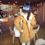áo khoác nữ mùa đông ấm áp