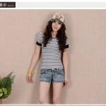 Hình ảnh nguồn hàng Quần short jean nữ mỏng mùa hè thoải mái giá sỉ quảng châu taobao 1688 trung quốc về TpHCM