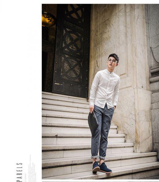 Áo sơ mi nam cổ trụ tay dài thời trang Mua Bán Sỉ Lẻ Order Quảng Châu