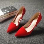 Hình ảnh nguồn hàng Giày cao gót nữ mũi nhọn thời trang giá sỉ quảng châu taobao 1688 trung quốc về TpHCM