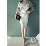 Hình ảnh nguồn hàng Chân váy nữ eo cao lót ren thời trang giá sỉ quảng châu taobao 1688 trung quốc về TpHCM