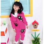 Hình ảnh nguồn hàng Set áo quần trẻ em hoạt hình dễ thương giá sỉ quảng châu taobao 1688 trung quốc về TpHCM