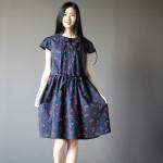 Hình ảnh nguồn hàng Đầm nữ dệt thổ cẩm cherry dễ thương giá sỉ quảng châu taobao 1688 trung quốc về TpHCM