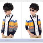 áo khoác bé trai dễ thương