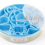 Hình ảnh nguồn hàng Bộ khuôn nhựa cắt bánh quy kèm hộp đủ loại giá sỉ quảng châu taobao 1688 trung quốc về TpHCM