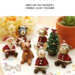 Hình ảnh nguồn hàng Tượng con vật bằng nhựa trang trí Noel dễ thương giá sỉ quảng châu taobao 1688 trung quốc về TpHCM