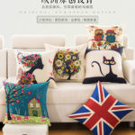 Hình ảnh nguồn hàng Gối bông hoạt hình nhỏ để sofa dễ thương giá sỉ quảng châu taobao 1688 trung quốc về TpHCM