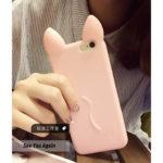 Hình ảnh nguồn hàng Ốp lưng dẻo Iphone 4/5s/6/6s tai mèo dễ thương giá sỉ quảng châu taobao 1688 trung quốc về TpHCM