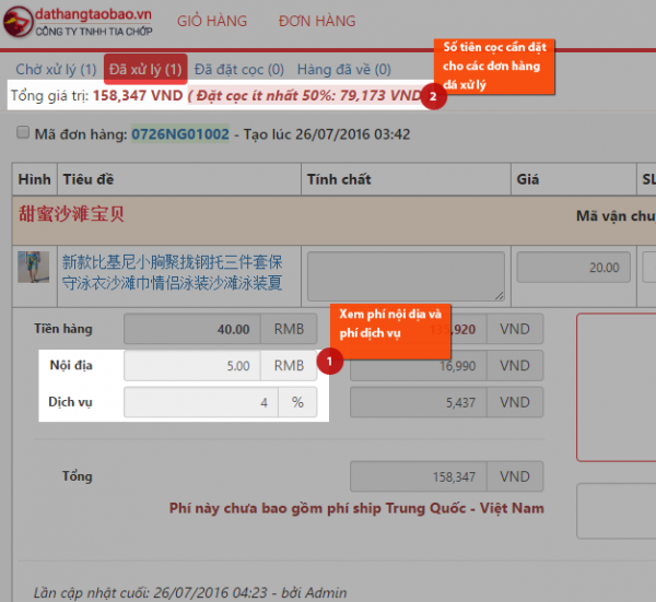 Hình ảnh nguồn hàng Quy trình đặt hàng trên hệ thống tcorder.vn giá sỉ quảng châu taobao 1688 trung quốc về TpHCM