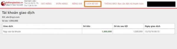 Hình ảnh nguồn hàng Hướng dẫn đặt cọc - thanh toán giá sỉ quảng châu taobao 1688 trung quốc về TpHCM