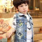 áo bé trai phong cách hàn quốc dễ thương