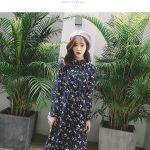 Hình ảnh nguồn hàng Đầm hoa nữ kiểu Hàn Quốc nữ tính dịu dàng giá sỉ quảng châu taobao 1688 trung quốc về TpHCM