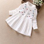 Hình ảnh nguồn hàng Váy trắng vải cotton dành cho trẻ em giá sỉ quảng châu taobao 1688 trung quốc về TpHCM