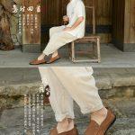 Hình ảnh nguồn hàng Giày nam không dây phong cách sang trọng giá sỉ quảng châu taobao 1688 trung quốc về TpHCM