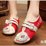 """Hình ảnh nguồn hàng Giày nữ dành cho các bạn phong cách """"tiểu thư"""" giá sỉ quảng châu taobao 1688 trung quốc về TpHCM"""