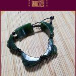 Hình ảnh nguồn hàng Vòng tay đá tự nhiên từ vùng Tân Cương giá sỉ quảng châu taobao 1688 trung quốc về TpHCM