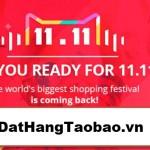 Hình ảnh nguồn hàng Khuyến mãi big sale 11/11/2017 khi order hàng tại DatHangTaobao.vn giá sỉ quảng châu taobao 1688 trung quốc về TpHCM