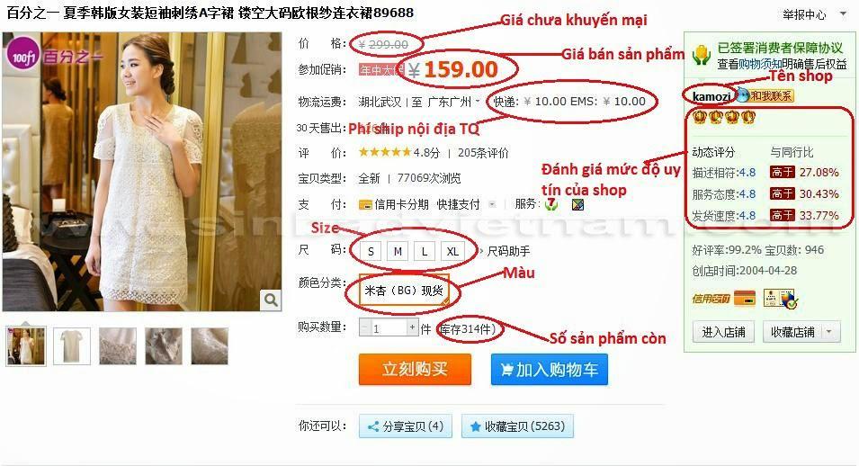 Hình ảnh nguồn hàng Lý Do Hàng Hóa Trên Taobao Thu Hút Triệu Người Việt giá sỉ quảng châu taobao 1688 trung quốc về TpHCM