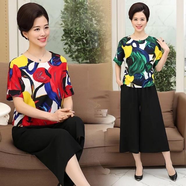 Hình ảnh nguồn hàng Nguồn quần áo trung niên cao cấp tốt cho việc kinh doanh giá sỉ quảng châu taobao 1688 trung quốc về TpHCM