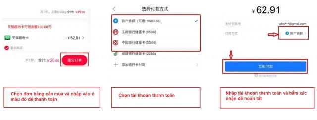 Hình ảnh nguồn hàng Cách Order Hàng Trên Tmall Không Qua Trung Gian Dễ Dàng giá sỉ quảng châu taobao 1688 trung quốc về TpHCM